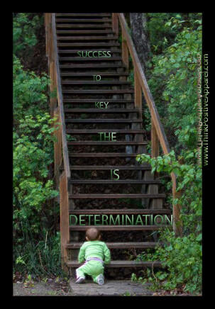 Determination is the key to success