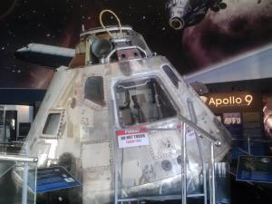 Human Achievement: The Apollo 9 Command Module Gumdrop (1969-018A)